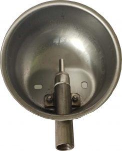 Чашечная поилка из кислотостойкой (нержавеющей) стали